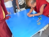 Comienzo Mandala de Arena de Tara 2011